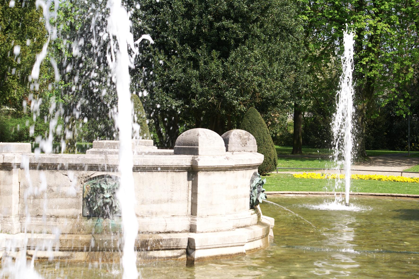 Viersen Alter Stadtgarten Neobarockgarten Parkanlage