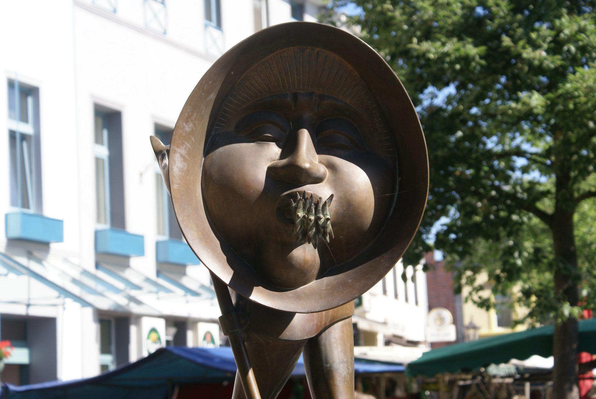 Kurt Sandweg Brunnen Die vier Winde Dülken