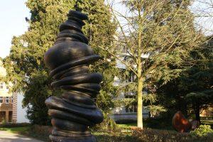Skulpturensammlung Viersen Anthony Cragg Wirbelsäule The articulated column
