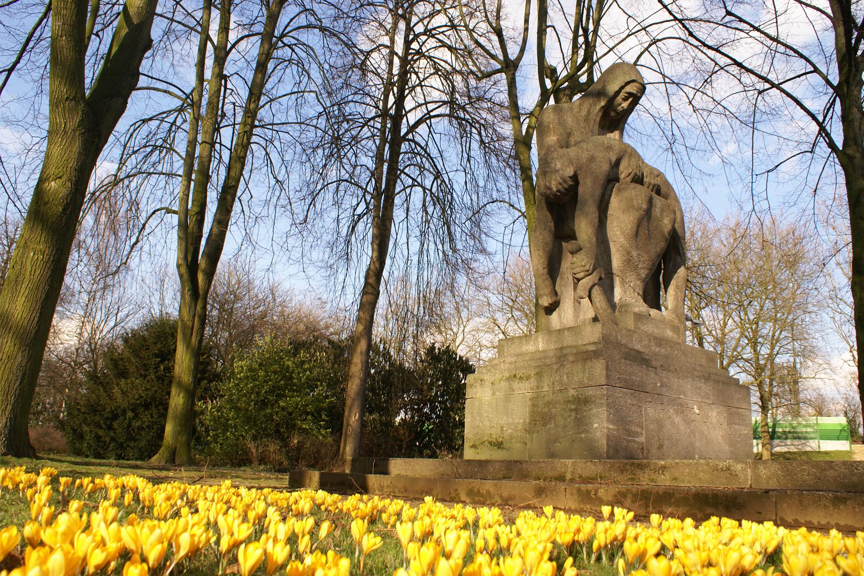 Kriegerdenkmal Viersen alter Stadtgarten