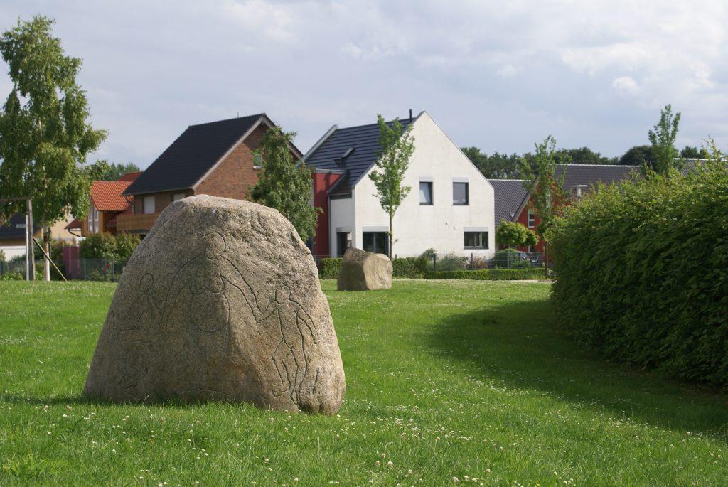 Steinkreis am Nordkanal Viersen Anatol Herzfeld