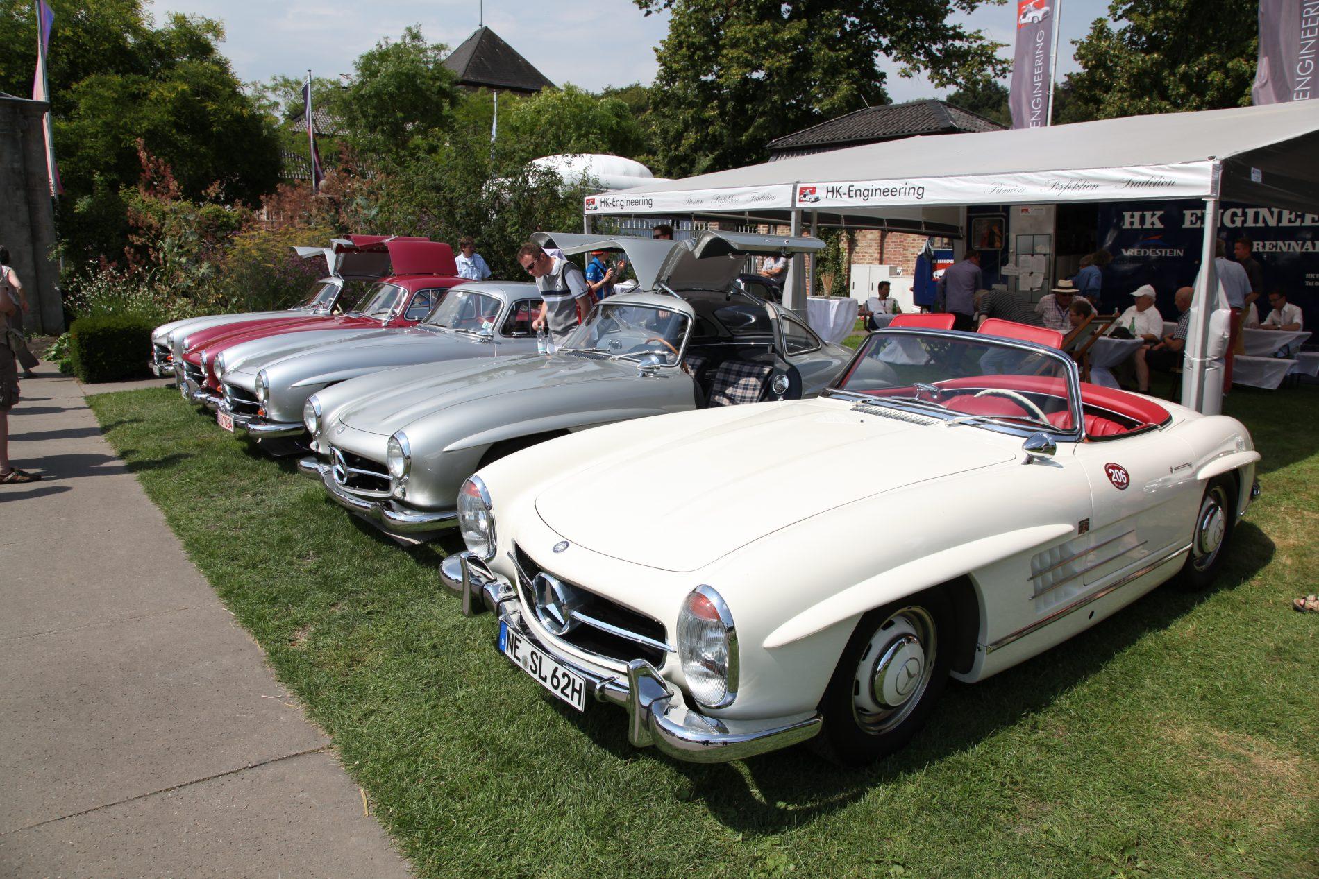 Schloss Dyck, Classic Days Oldtimer Mercedes 300 SL